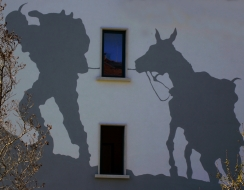 foto  Shadows on the wall
