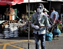 foto  At chatuchak market...bangkok