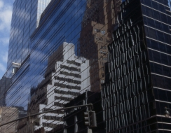 7744 foto  Riflessi a manhattan